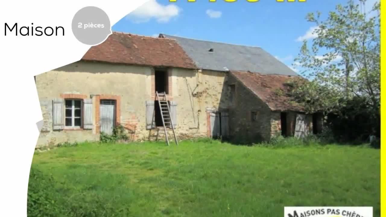 Transaxia Centre France A Vendre Maison Villa Neuvy St Sepulchre 36230 2 Pièces 60m²