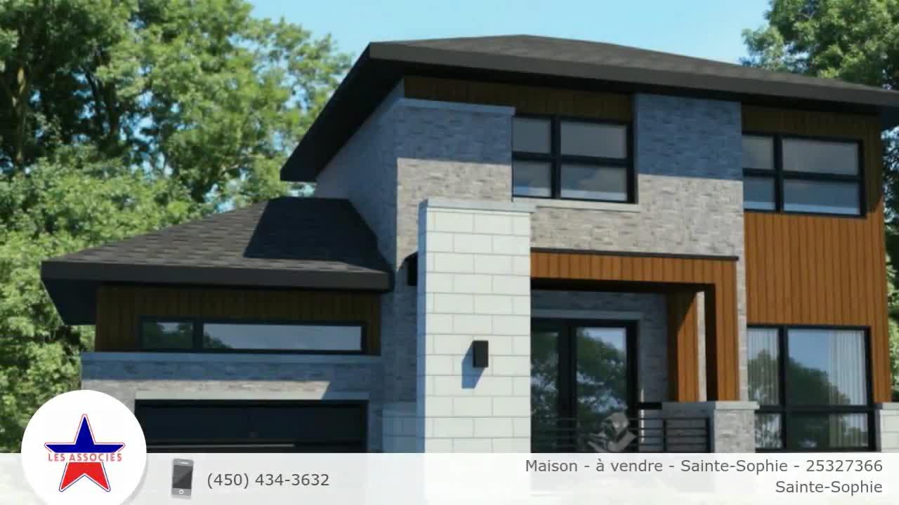 Maison - à vendre - Sainte-Sophie - 25327366